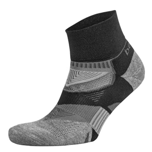 Balega Enduro 2 Low Cut Unisex Black/Heather Grey - Balega Style # 8972-3339 S18