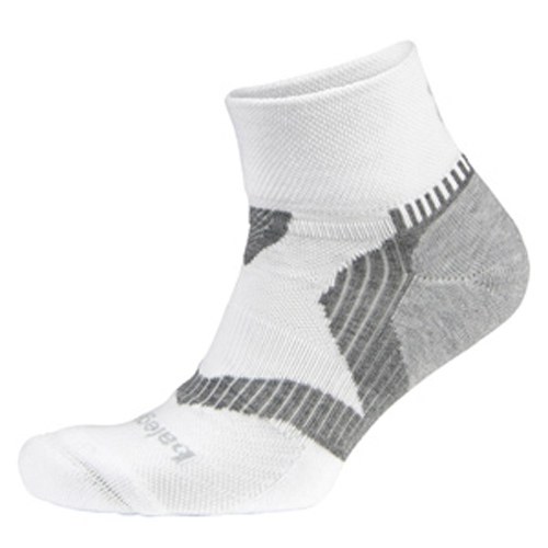 Balega Enduro V-Tech Quarter Unisex White/Grey