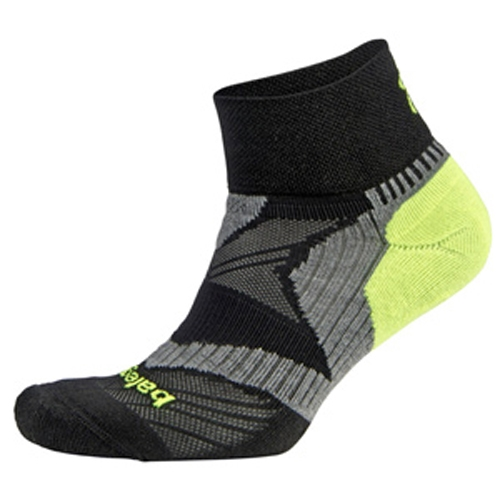 Balega Enduro V-Tech Quarter Unisex Black/Grey/Yellow