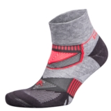 Balega Enduro V-Tech Quarter Unisex Midgrey/Carbon