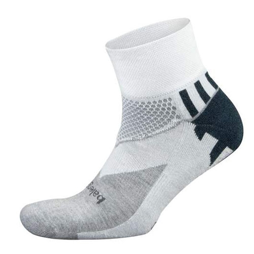 Balega Enduro V-Tech Quarter Unisex White/Midgrey