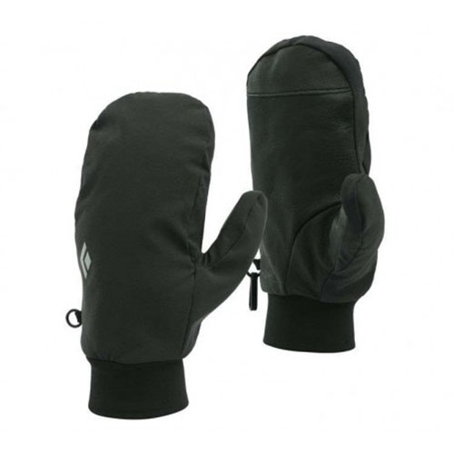 Black Diamond Softshell Mitts Unisex Midweight Smoke - Black Diamond Style # BD801051 S20
