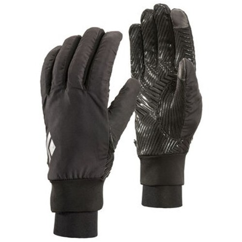 Black-DiamondMont-Blanc-Gloves Unisex Black