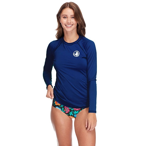 Body Glove Sleek Rashguard Women's Midnight