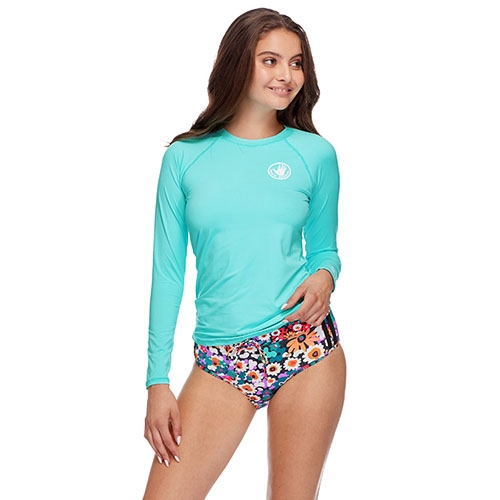 Body Glove Sleek Rashguard Women's Sea Mist