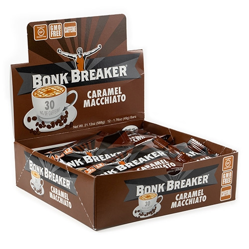 Bonk Breaker Bar Case of 12 Caramel Macchiato