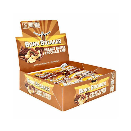 Bonk Breaker Bar Case of 12 Peanut Butter Chocolate Chip