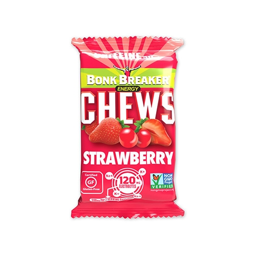 Bonk Breaker Chews Single Strawberry