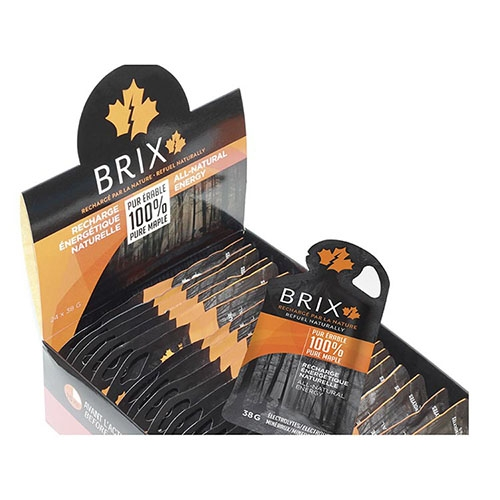 Brix Gel, 38G  Case(24) Maple Syrup - Xact Style # 301-BRIXM38-24 S19