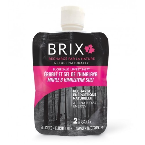 Brix Gel, 80g Maple Syrup & Himalayan Salt