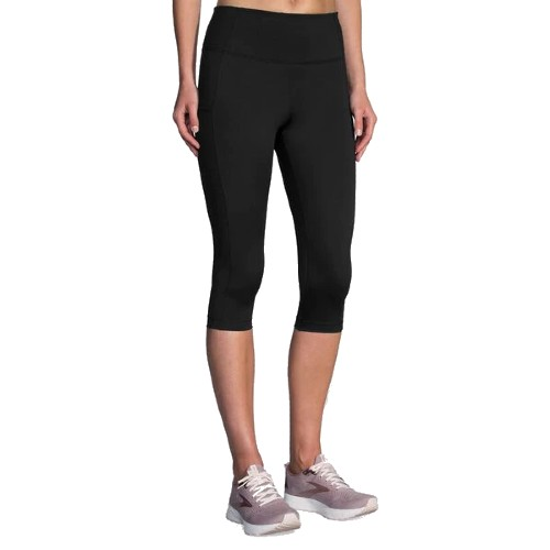 Brooks 1/2 Crop Tight Women's Black
