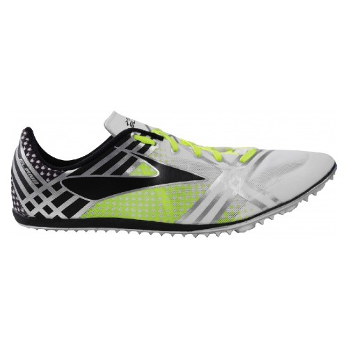 Brooks 3 Elmn8 Unisex White/Black/Nightlife