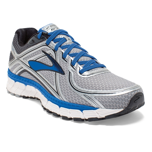 Brooks Adrenaline GTS 16 Men's Silver/Electric Blue