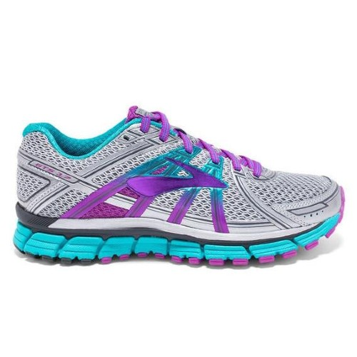 Brooks Adrenaline GTS 17 Women's Silver/Purple Cactus