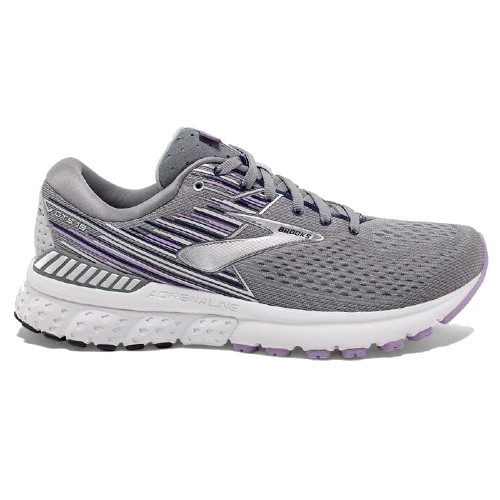 Brooks Adrenaline GTS 19 Women's Grey/Lavender/Navy
