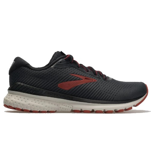 Brooks Adrenaline GTS 20 Men's Black / Ebony/Ketchup