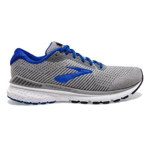 Brooks Adrenaline GTS 20 Men's Grey/Blue/Navy - Brooks Style # 110307 1D 051 S20