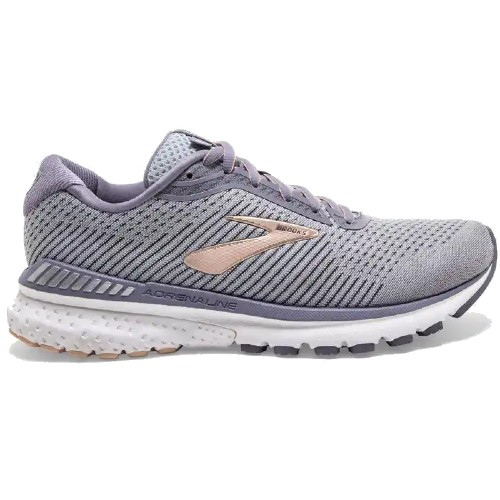 Brooks Adrenaline GTS 20 Women's Grey/Pale Peach/White