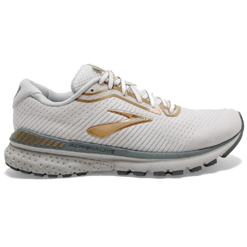 Brooks Adrenaline GTS 20 Women's White/Grey/Gold