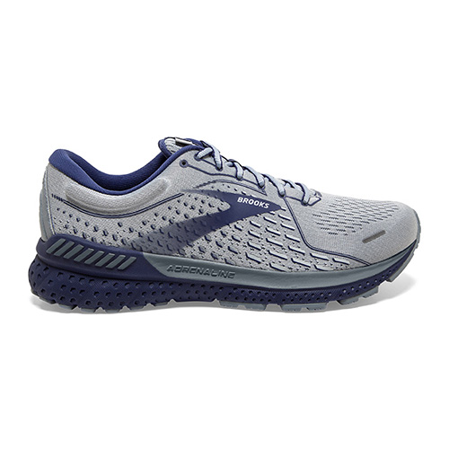 Brooks Adrenaline GTS 21 Men's Grey/Tradewinds/Cobalt