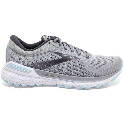 Brooks Adrenaline GTS 21 Women's Oyster/Alloy/Blue