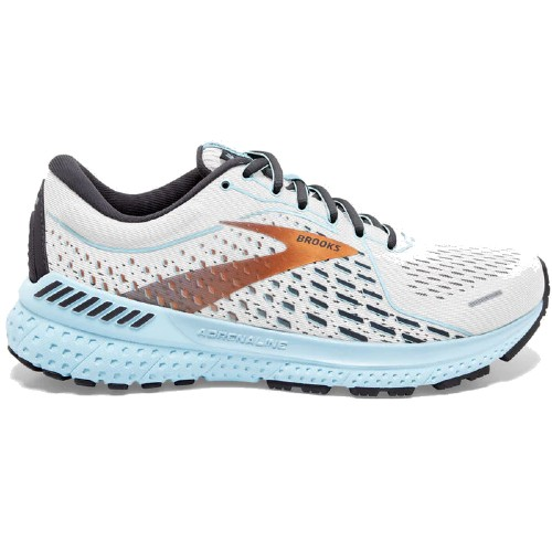 Brooks Adrenaline GTS 21 Women's White/Alloy/Light Blue