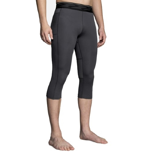 Brooks All-In 3/4 Tight Men's Black