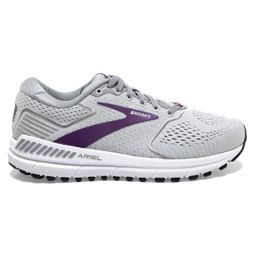 Brooks Ariel 20 Women's Oyster / Alloy / Grape