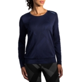 Brooks Array Longsleeve Women's Navy Eclipse Jacquard