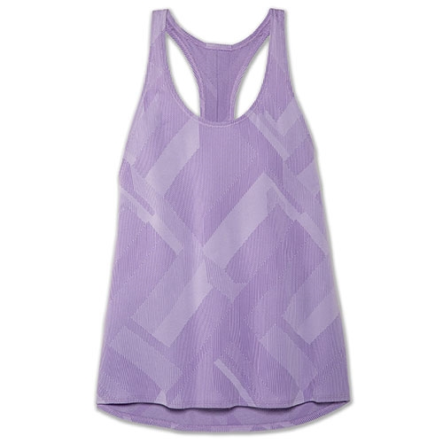 Brooks Array Tank Women's Lilac Eclipse Jacquard