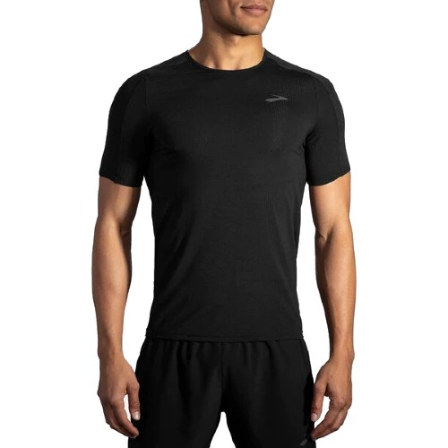 Brooks Atmoshere Short Sleeve Men's Black