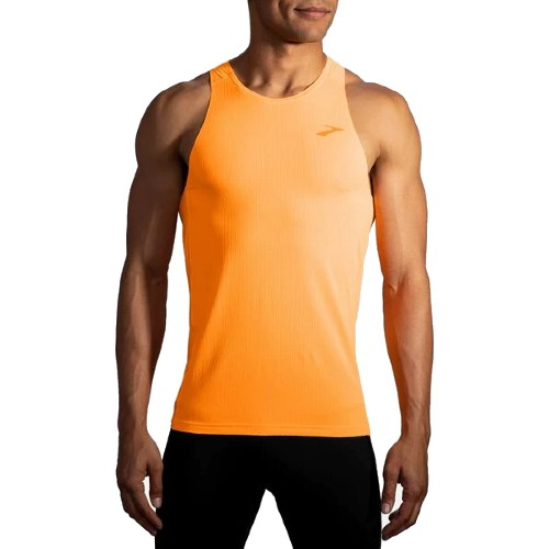 Brooks Atmoshere Singlet Men's Fluoro Orange