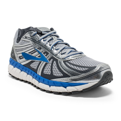 Brooks Beast 16 Men's Silver /Electric Brooks - Brooks Style # 110227 1D 005 F16