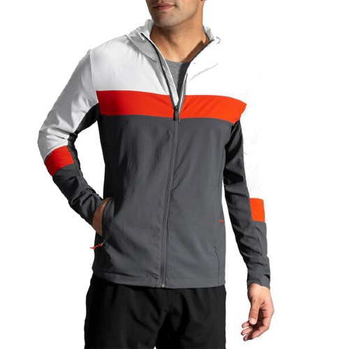 Brooks Canopy Jacket Men's Ash/Asphalt/Lava