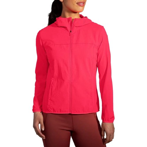 Brooks Canopy Jacket Women's Fluoro Pink