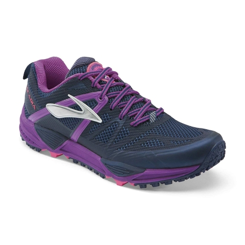 Brooks Cascadia 10 Women's Midnight/Purple Cactus - Brooks Style # 120181 1D 424 S15