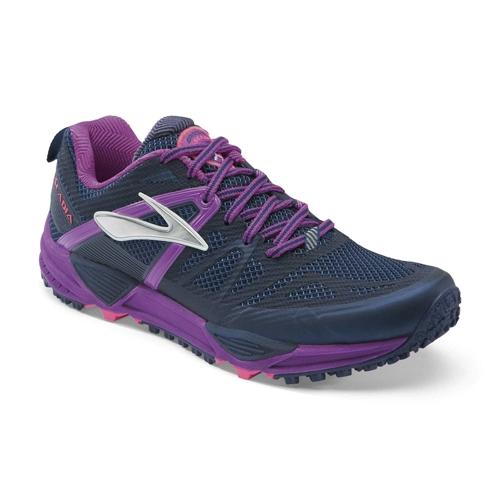Brooks Cascadia 10 Women's Midnight/Purple Cactus - Brooks Style # 120181 1D 424 S15