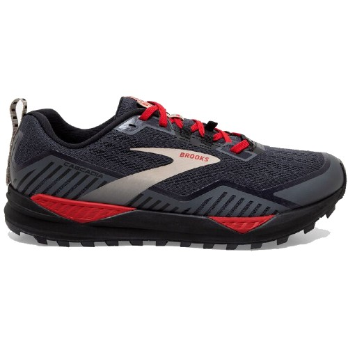Brooks Cascadia 15 GTX Men's Black/Ebony/Red