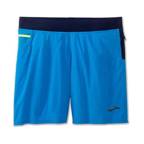 "Brooks Cascadia 7"" 2 in1 Short Men's Azul/Navy"