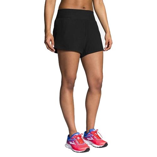 "Brooks Chaser 5"" Short Women's Black"