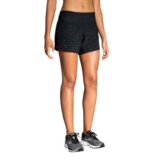 "Brooks Chaser 5"" Short Women's Black/NebulaReflective"