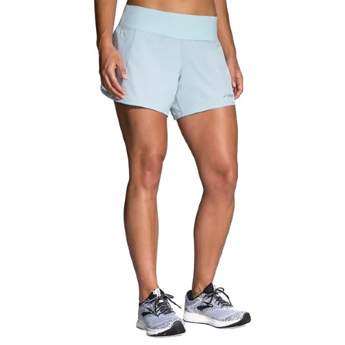 "Brooks Chaser 5"" Short Women's Glacier/Navy"