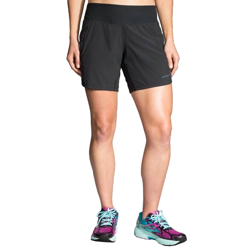 "Brooks Chaser 7"" Short Women's Black"