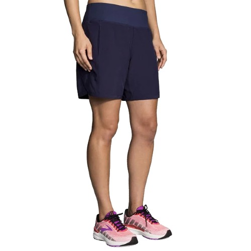 "Brooks Chaser 7"" Short Women's Navy"