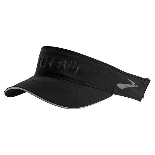 Brooks Chaser Visor Unisex Black