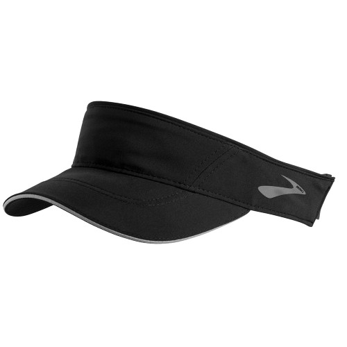 Brooks Chaser Visor Unisex Black - Brooks Style # 280405.001 F20