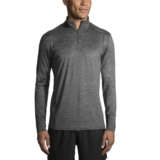 Brooks Dash 1/2 Zip Men's Heather Asphalt