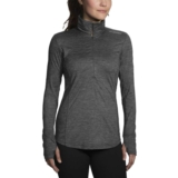 Brooks Dash 1/2 Zip Women's Heather Asphalt