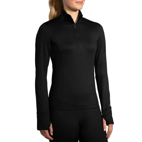 Brooks Dash 1/2 Zip Women's Black
