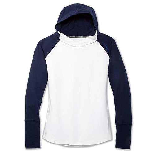Brooks Dash Hoodie Women's White/Navy